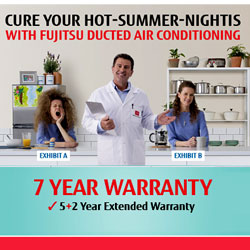 Fujitsu Cure Your Hot Summer Nights Promo